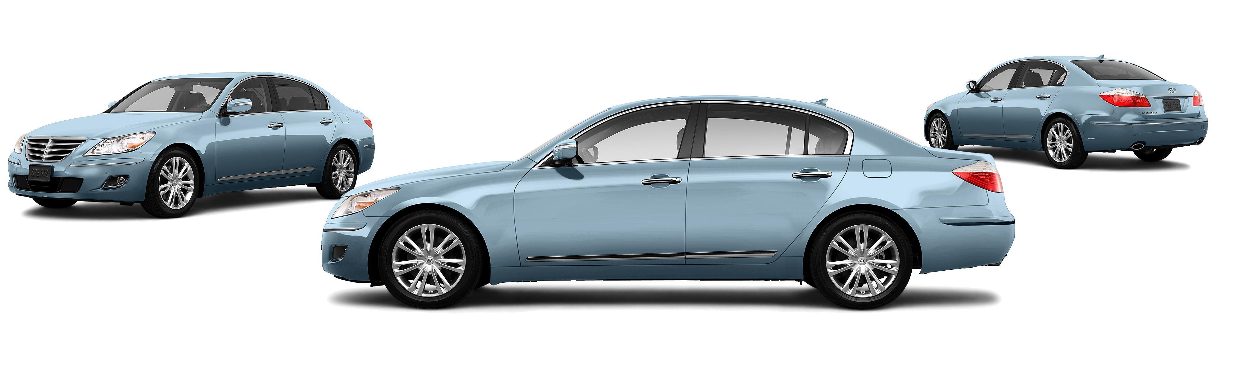 2010 Hyundai Genesis 4.6L V8 4dr Sedan - Research - GrooveCar on