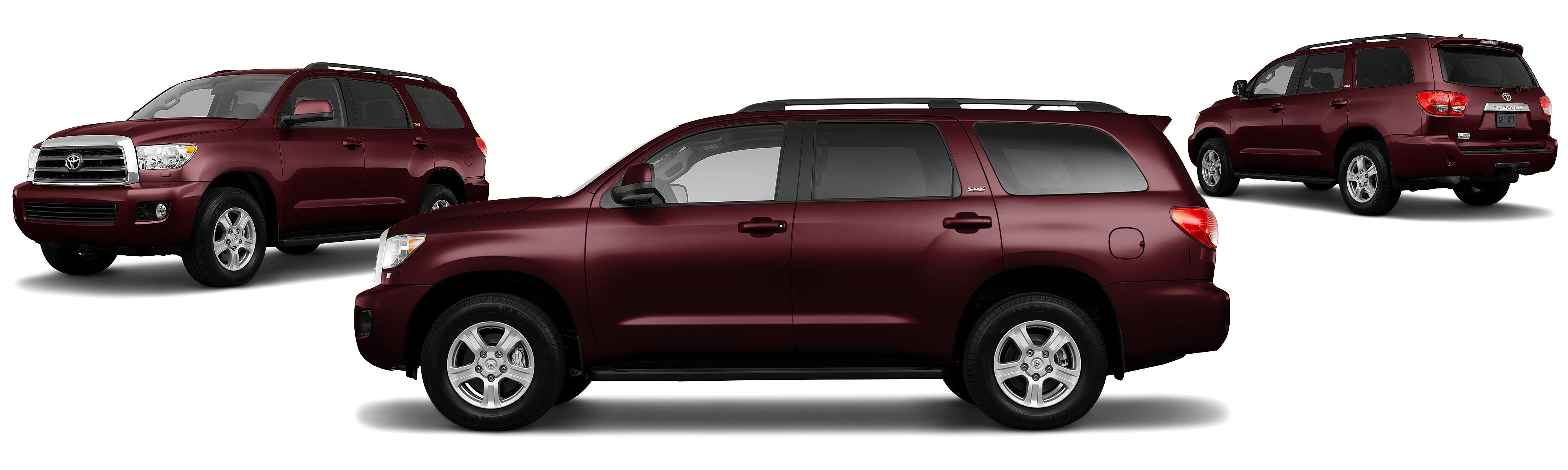 the limited more most miles likely top sequoia or to cars used new last toyota