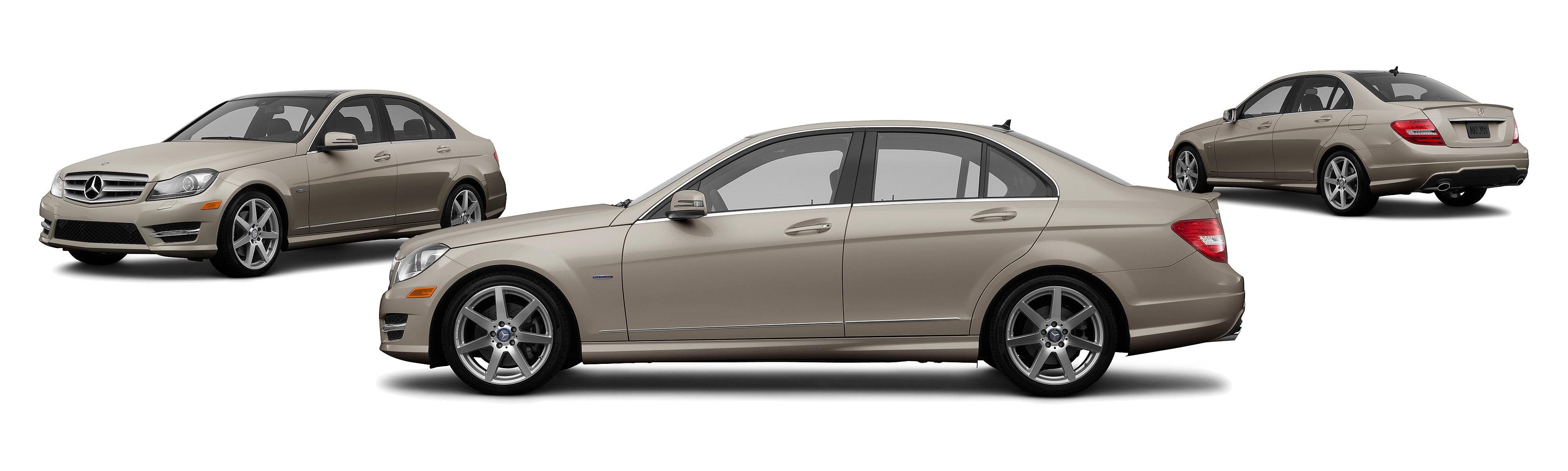 2012 Mercedes Benz C Class C 63 AMG 4dr Sedan Research GrooveCar