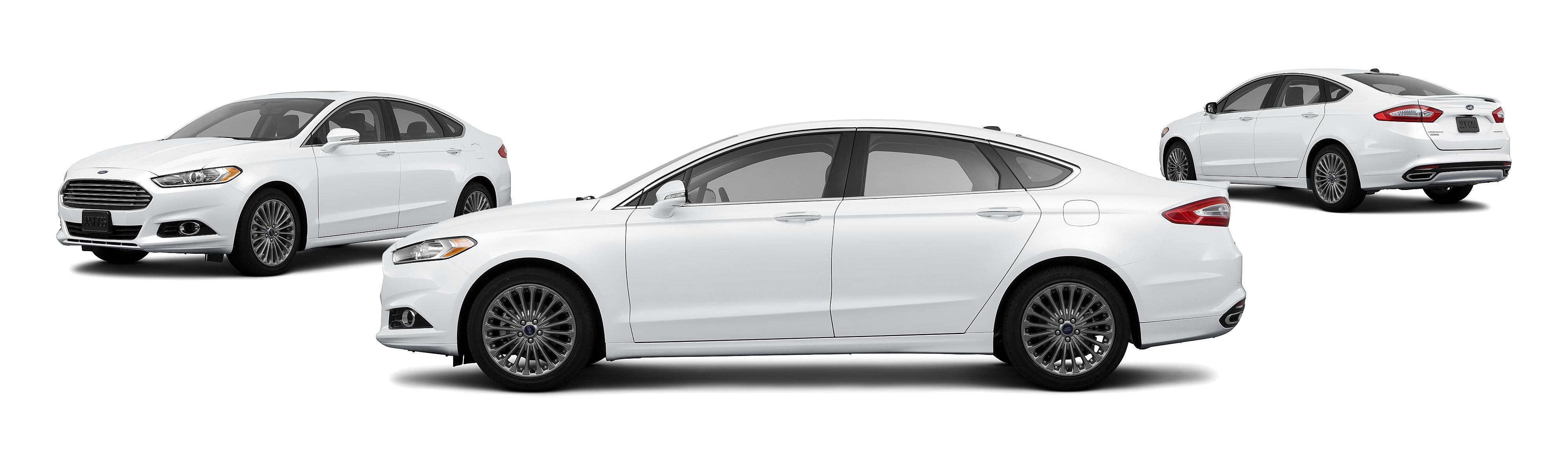 2013 Ford Fusion Titanium 4dr Sedan Research GrooveCar