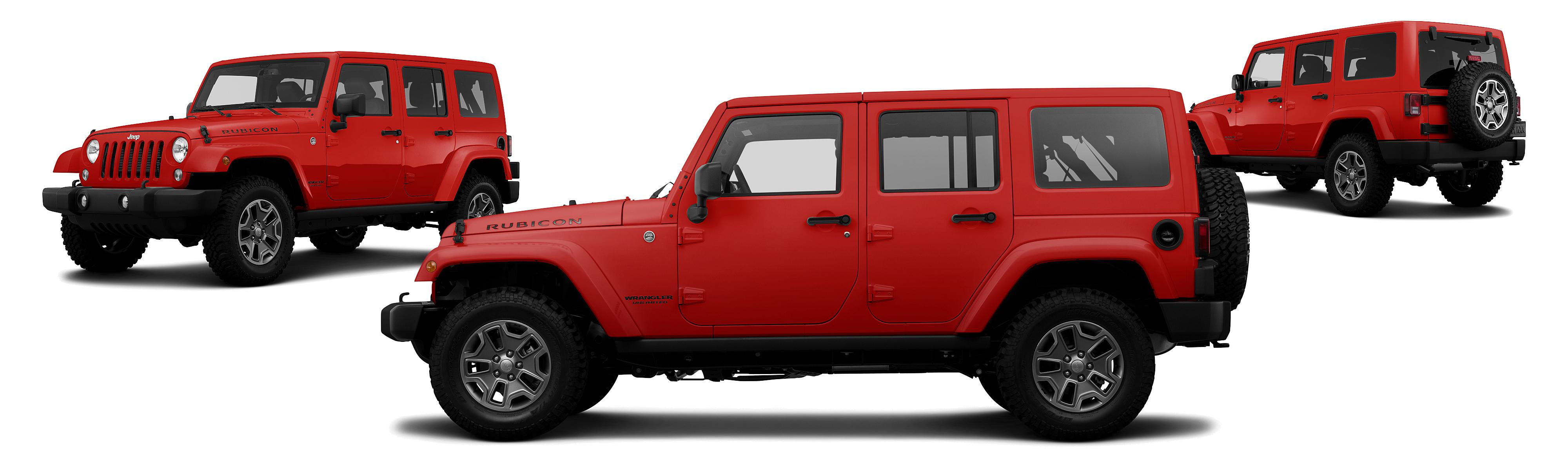 2014 Jeep Wrangler Unlimited 4x4 Rubicon 4dr SUV Research GrooveCar