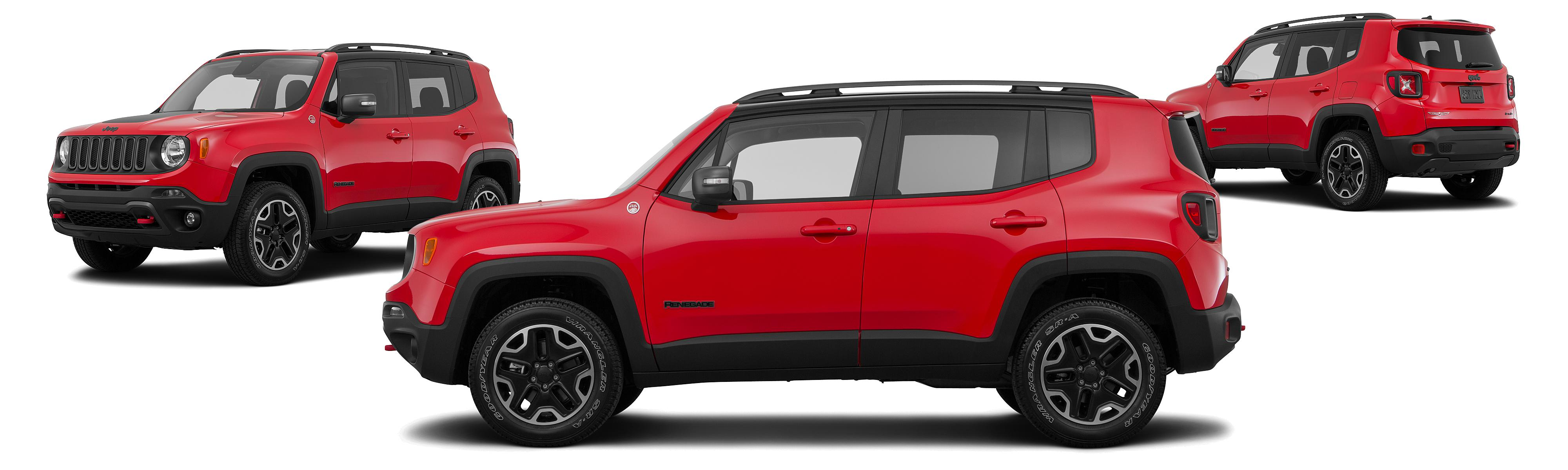 2015 Jeep Renegade 4x4 Trailhawk 4dr SUV Research GrooveCar