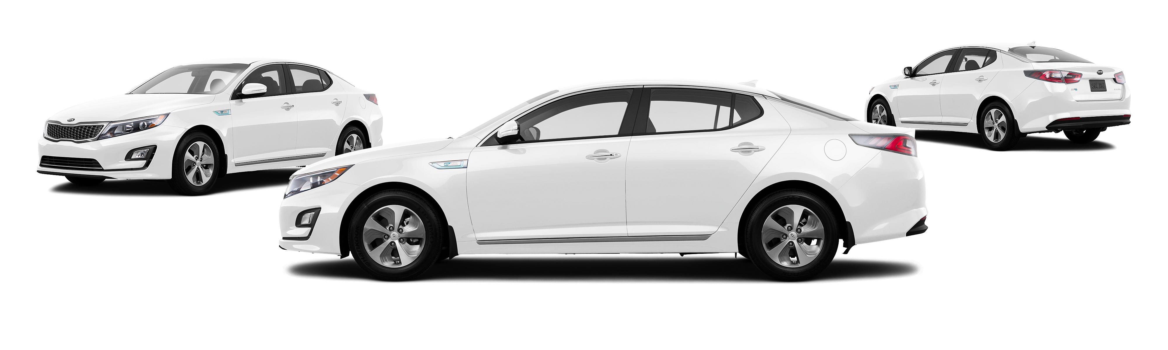 optima hybrid white kia new free
