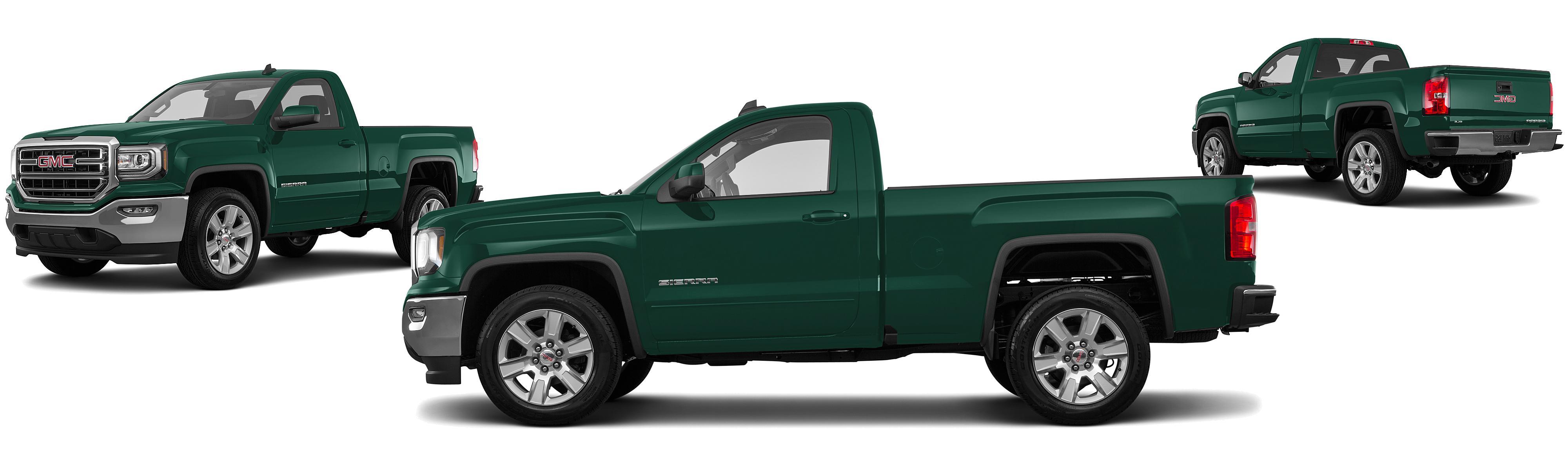 2017 gmc sierra 1500 4x2 sle 2dr regular cab 6 5 ft sb research groovecar