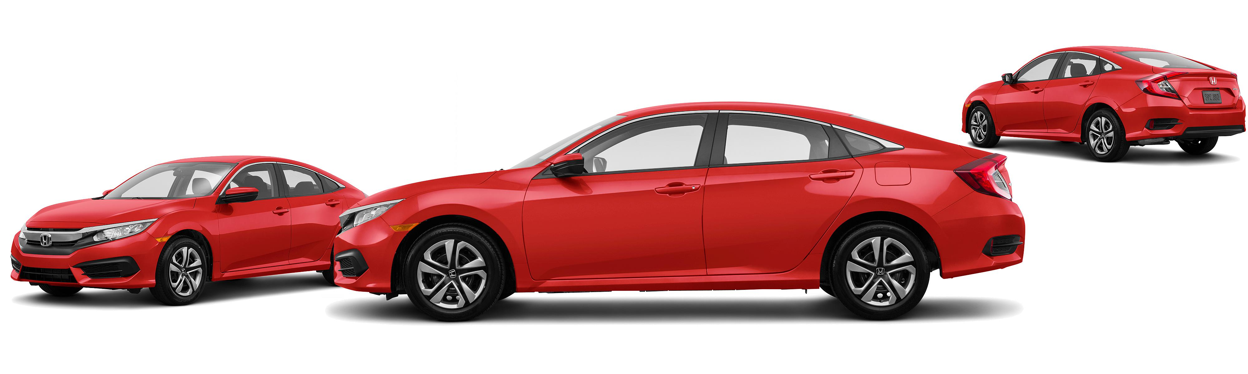 2017 Honda Civic LX 4dr Sedan 6M Research GrooveCar