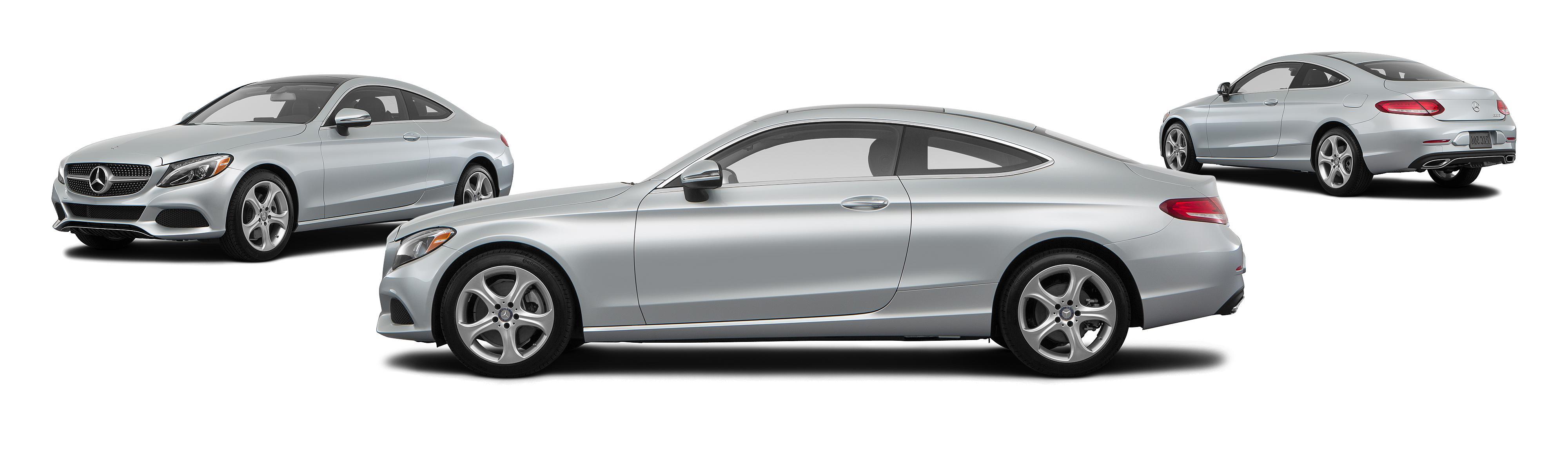 2017 mercedes benz c class c 300 2dr coupe iridium silver metallic posite large
