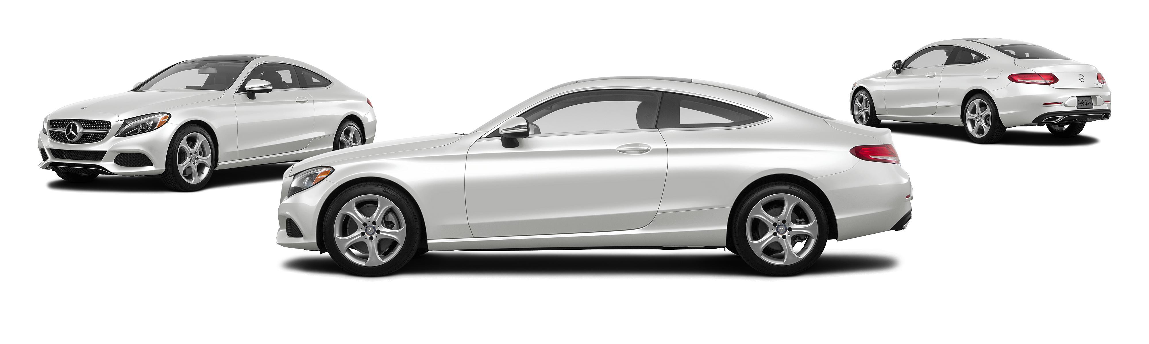 2017 mercedes benz c class c 300 2dr coupe polar white posite large