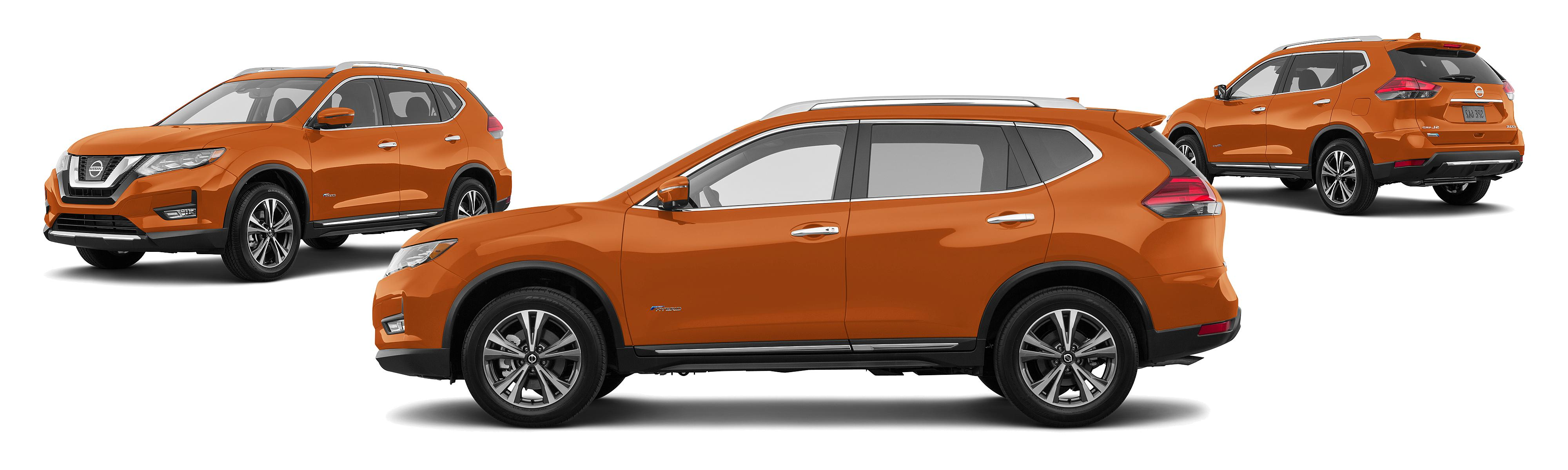 2017 Nissan Rogue Hybrid AWD SL 4dr Crossover Research GrooveCar