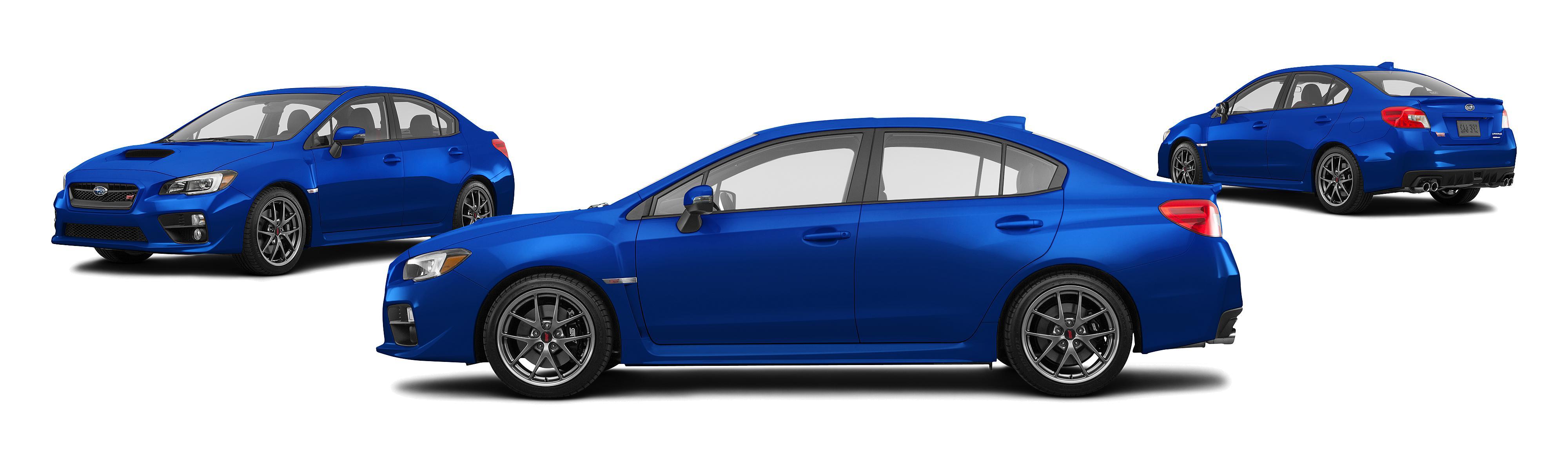 2017 Subaru Wrx Awd Sti Limited 4dr Sedan W Wing Spoiler Research Groovecar