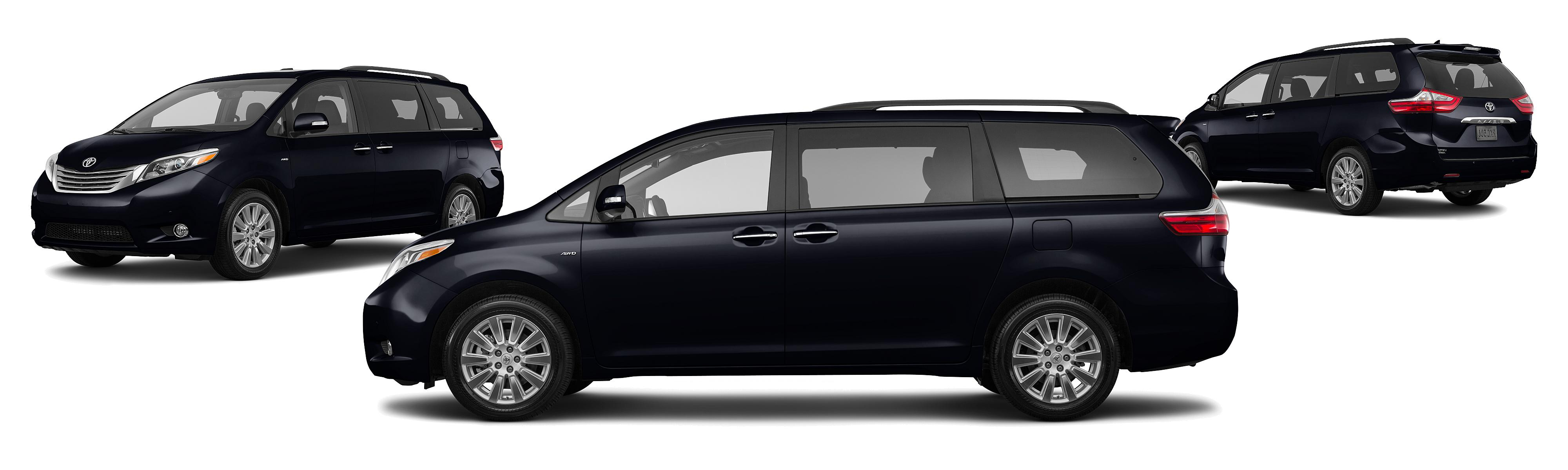 2017 Toyota Sienna Awd Le 7 Penger 4dr Mini Van Research Groovecar