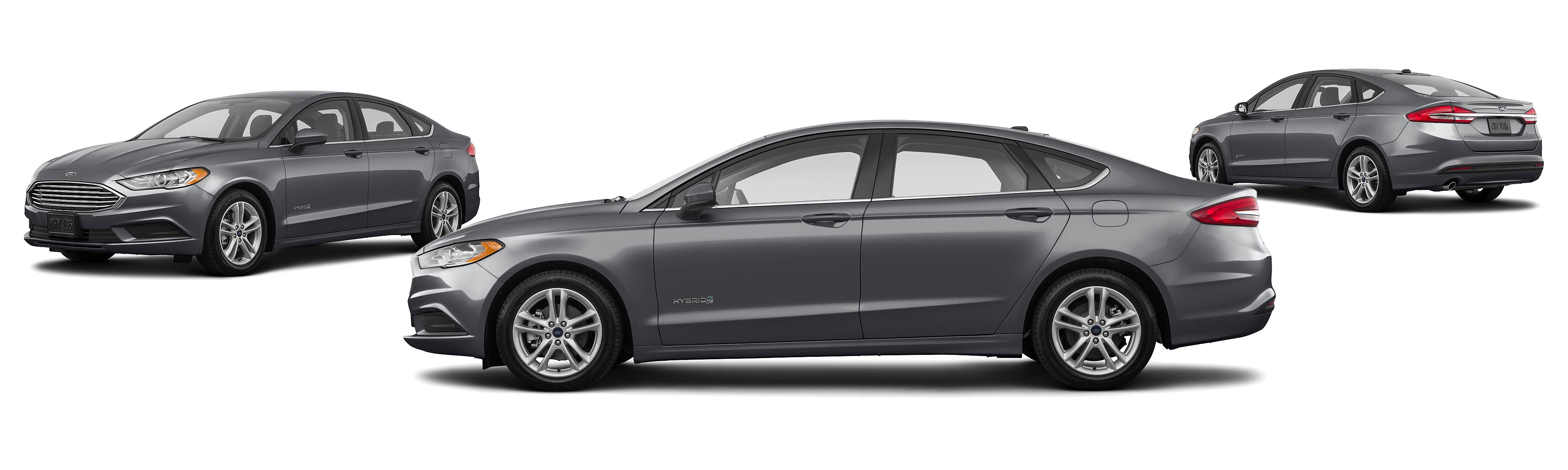 2018 Ford Fusion Hybrid Platinum 4dr Sedan Research GrooveCar