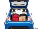 2018 Fiat 500 Lounge, trunk props.