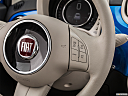 2018 Fiat 500 Lounge, steering wheel controls (right side)