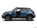 2019 Fiat 500X Trekking, driver's side profile with drivers side door open.