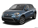 2019 Fiat 500X Trekking, front angle view.