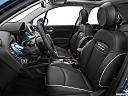 2019 Fiat 500X Trekking, front seats from drivers side.