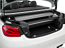 2020 BMW 4-series M4, trunk open.