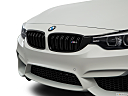 2020 BMW 4-series M4, close up of grill.