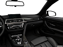 2020 BMW 4-series M4, center console/passenger side.