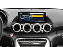 2020 Mercedes-Benz AMG GT C, closeup of radio head unit