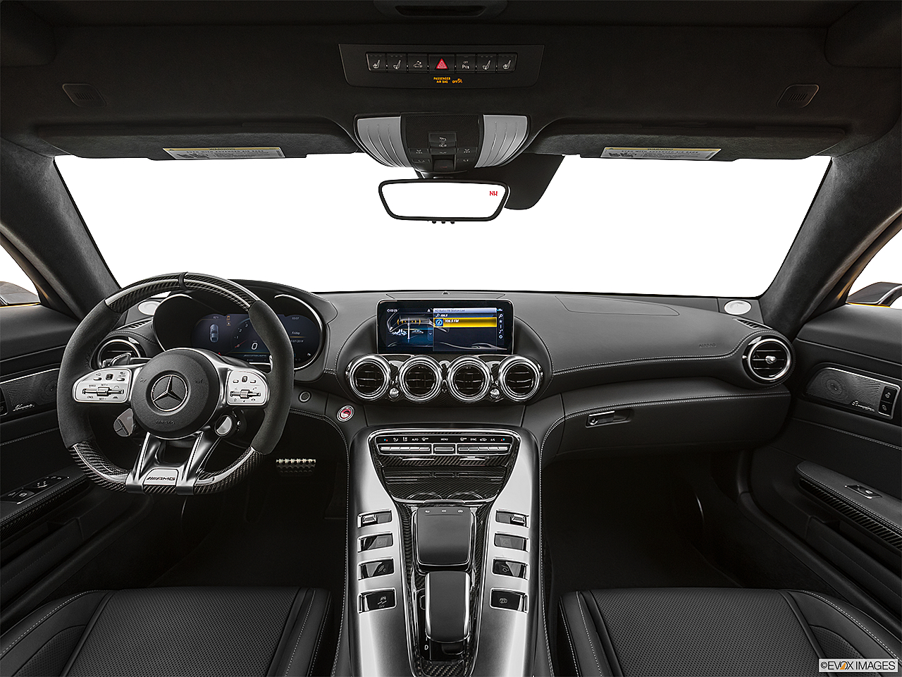 2020 Mercedes-Benz AMG GT C, centered wide dash shot
