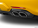 2020 Mercedes-Benz AMG GT C, chrome tip exhaust pipe.