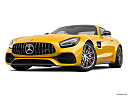 2020 Mercedes-Benz AMG GT C, front angle view, low wide perspective.