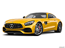2020 Mercedes-Benz AMG GT C, front angle medium view.