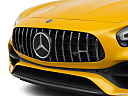 2020 Mercedes-Benz AMG GT C, close up of grill.