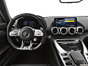 2020 Mercedes-Benz AMG GT C, steering wheel/center console.