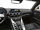 2020 Mercedes-Benz AMG GT C, center console/passenger side.