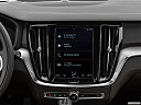 2020 Volvo V60 Cross Country T5 AWD, closeup of radio head unit