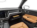 2020 Volvo V60 Cross Country T5 AWD, glove box open.