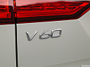 2020 Volvo V60 Cross Country T5 AWD, rear model badge/emblem