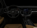 "2020 Volvo V60 Cross Country T5 AWD, centered wide dash shot - ""night"" shot."