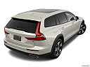 2020 Volvo V60 Cross Country T5 AWD, rear 3/4 angle view.