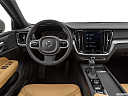 2020 Volvo V60 Cross Country T5 AWD, steering wheel/center console.